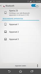 Sony Xperia Z3 4G (D6603) - Bluetooth - Aanzetten - Stap 6