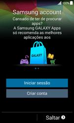Samsung Galaxy Ace 4 - Primeiros passos - Como ligar o telemóvel pela primeira vez -  15