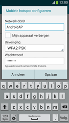 Samsung I9195i Galaxy S4 mini VE - WiFi - Mobiele hotspot instellen - Stap 9