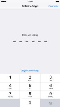 Apple iPhone 6s Plus - Segurança - Como ativar o código de bloqueio do ecrã -  5