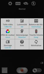 LG F70 - Photos, vidéos, musique - Créer une vidéo - Étape 6