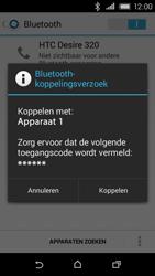 HTC Desire 320 - WiFi en Bluetooth - Bluetooth koppelen - Stap 7