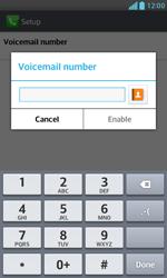 LG E975 Optimus G - Voicemail - Manual configuration - Step 8