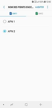 Samsung Galaxy A6 - Internet - configuration manuelle - Étape 20
