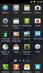 Samsung Galaxy S II - Segurança - Como ativar e desativar um código para bloqueio de tela do seu celular - Etapa 3