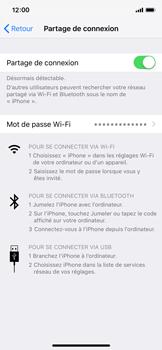 Apple iPhone XS - iOS 12 - Internet et connexion - Utiliser le mode modem par USB - Étape 8