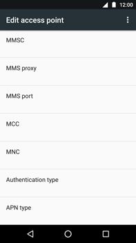 Motorola Moto Z Play - Internet - Manual configuration - Step 12