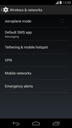 Motorola Moto G - Internet - Enable or disable - Step 5