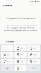 Samsung Galaxy S6 Edge - Android Nougat - Segurança - Como ativar o código de bloqueio do ecrã -  7