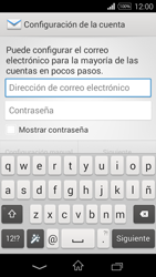 Sony D2203 Xperia E3 - E-mail - Configurar correo electrónico - Paso 5