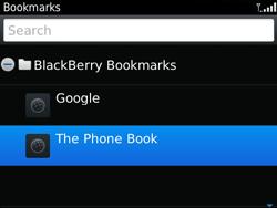 BlackBerry 9790 Bold - Internet - Internet browsing - Step 9