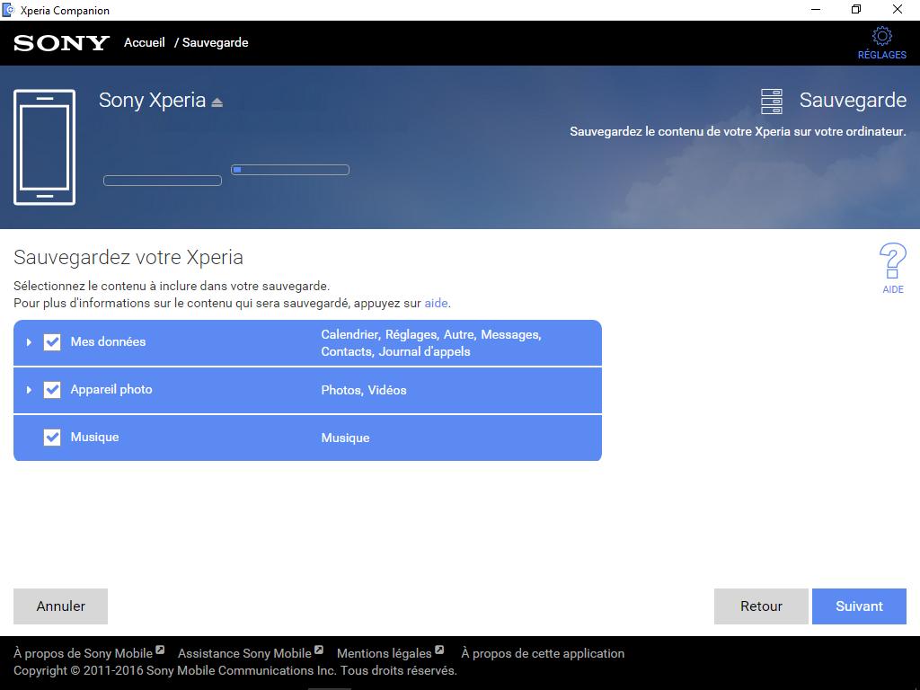 Sony Xperia XA2 - Aller plus loin - Gérer vos données avec un ordinateur - Étape 6