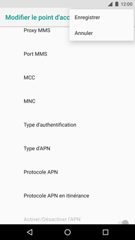 Huawei Nexus 6P - Android Oreo - MMS - Configuration manuelle - Étape 14