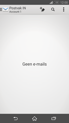 Sony D5803 Xperia Z3 Compact - E-mail - Account instellen (POP3 zonder SMTP-verificatie) - Stap 4