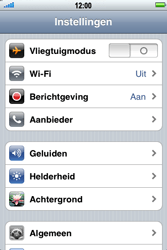 Apple iPhone 3G S - Internet - handmatig instellen - Stap 3