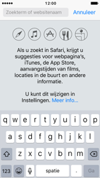 Apple iPhone SE - iOS 10 - Internet - Hoe te internetten - Stap 4