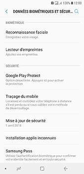 Samsung Galaxy A6 - Appareil - configurer Localiser mon appareil - Étape 5