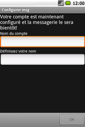 Samsung I5700 Galaxy Spica - E-mail - Configuration manuelle - Étape 13
