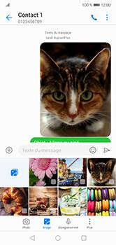 Huawei P20 lite - Contact, Appels, SMS/MMS - Envoyer un MMS - Étape 19
