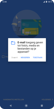 Sony Xperia XZ3 - E-mail - e-mail instellen (outlook) - Stap 12