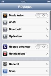 Apple iPhone 4 - iOS 6 - Internet - activer ou désactiver - Étape 3