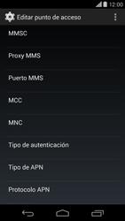 Motorola Moto X (2ª Gen) - Internet - Configurar Internet - Paso 11