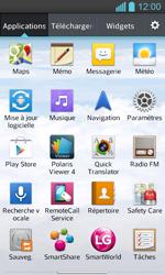 LG P710 Optimus L7 II - MMS - envoi d'images - Étape 2
