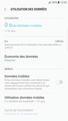 Samsung G925F Galaxy S6 Edge - Android Nougat - Internet - Désactiver les données mobiles - Étape 7