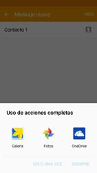 Samsung Galaxy J5 - Mensajería - Escribir y enviar un mensaje multimedia - Paso 18