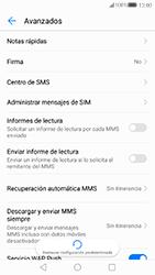 Huawei P10 - Mensajería - Configurar el equipo para mensajes de texto - Paso 9