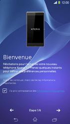 Sony Xpéria M2 - Premiers pas - Créer un compte - Étape 4