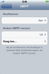 Apple iPhone 4S met iOS 5 (Model A1387) - E-mail - Handmatig instellen - Stap 12