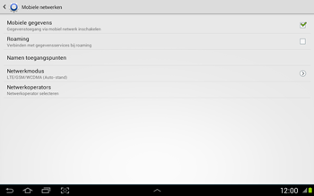 Samsung N8020 Galaxy Note 10-1 LTE - Buitenland - Bellen, sms en internet - Stap 7