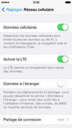 Apple iPhone 5c - Internet et connexion - Utiliser le mode modem par USB - Étape 5