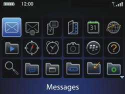 BlackBerry 9700 Bold - Mms - Envoi d