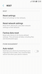 Samsung A320F Galaxy A3 (2017) - Android Nougat - Device - Reset to factory settings - Step 7