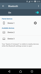 Sony F5321 Xperia X Compact - WiFi and Bluetooth - Setup Bluetooth Pairing - Step 8