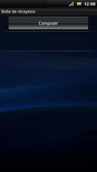 Sony Ericsson Xperia Arc - E-mail - envoyer un e-mail - Étape 3