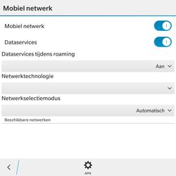 BlackBerry Passport - Internet - Internet gebruiken in het buitenland - Stap 10