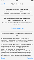 Apple iPhone 6 - Applications - Créer un compte - Étape 11