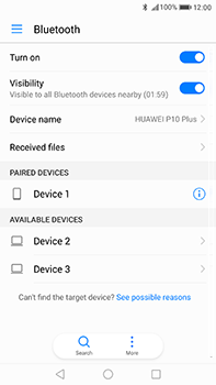Huawei P10 Plus - Bluetooth - Pair with another device - Step 7