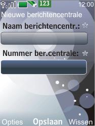 Nokia 7210 supernova - SMS - Handmatig instellen - Stap 8