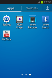Samsung S6790 Galaxy Fame Lite - Internet - Manual configuration - Step 3
