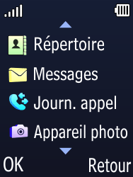 Doro Phone Easy 631 - Contact, Appels, SMS/MMS - Ajouter un contact - Étape 3