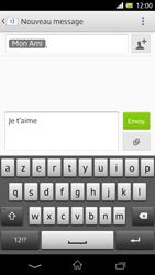 Sony Xpéria Z - Contact, Appels, SMS/MMS - Envoyer un SMS - Étape 11