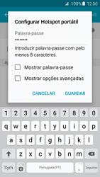 Samsung Galaxy S6 Edge - Internet no telemóvel - Como partilhar os dados móveis -  9