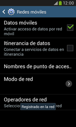 Samsung S7580 Galaxy Trend Plus - Red - Seleccionar una red - Paso 10