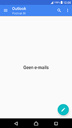 Sony Xperia X Compact (F5321) - E-mail - Handmatig instellen (outlook) - Stap 4