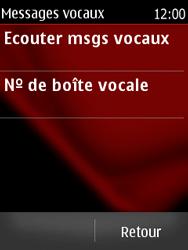 Nokia Asha 300 - Messagerie vocale - Configuration manuelle - Étape 5