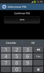 Samsung Galaxy Trend Plus - Segurança - Como ativar o código de bloqueio do ecrã -  11